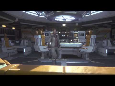 Alien Isolation Walkthrough Part 1 (B): Sevastopol Station