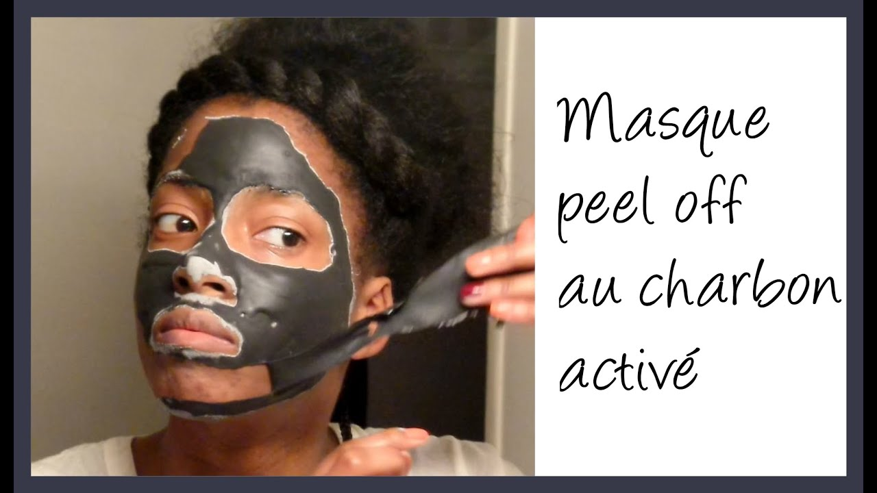 masque peel off au charbon activ diy activated charcoal peel off mask youtube. Black Bedroom Furniture Sets. Home Design Ideas