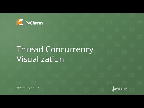Thread Concurrency Visualization in PyCharm 5