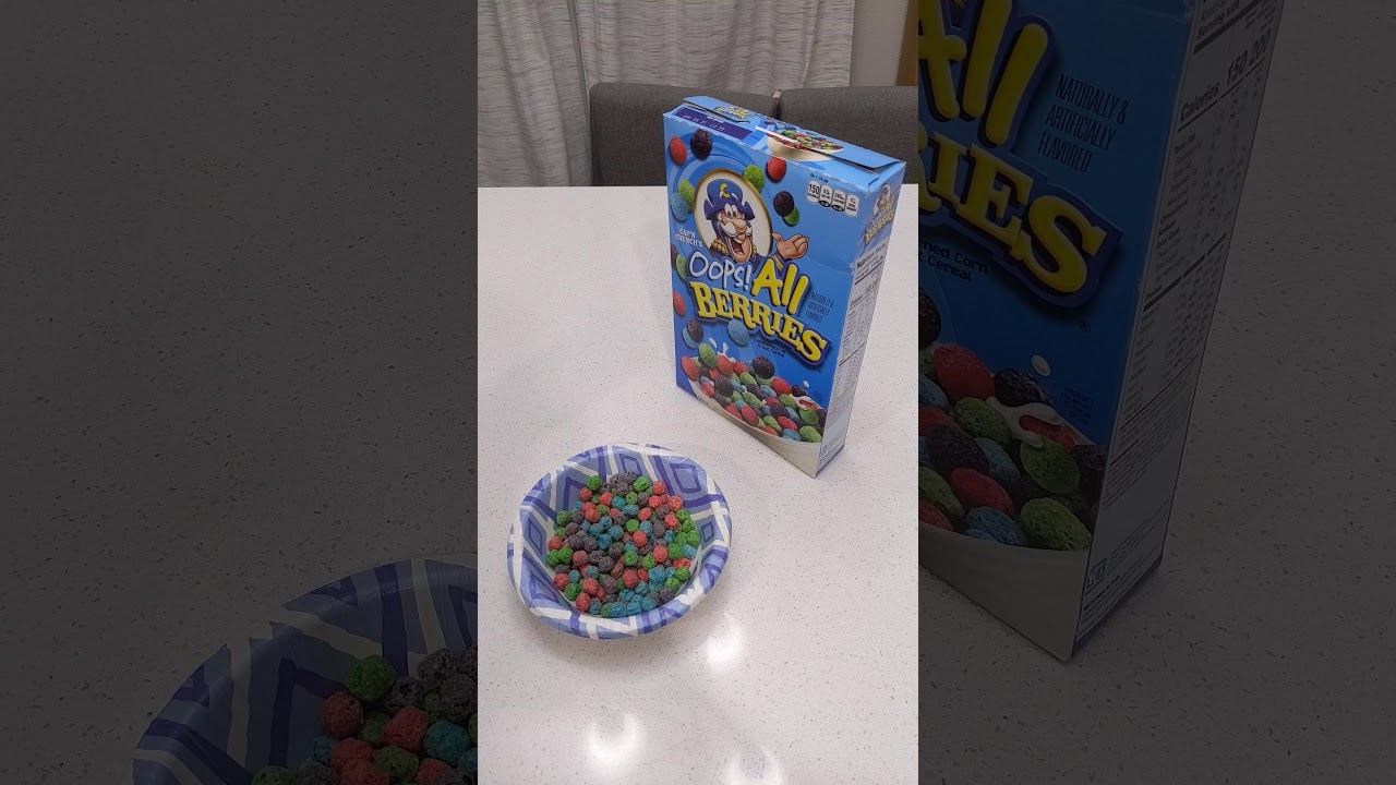 Know What S Better Than Oops All Berries Youtube All berries was the best thing cap'n crunch did to my childhood. youtube