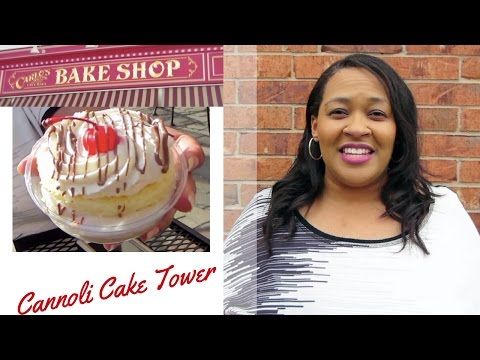 My Food Quest Episode 3 - Food Review of Cake Boss Carlo's Bakery in Dallas