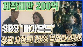 【ENG】제작비만 200억 들인 드라마 '배가본드' 첫회에 10%넘었다...어떤 내용일까?? …