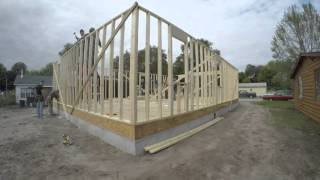 GoPro time lapse of House build 11-5-2015