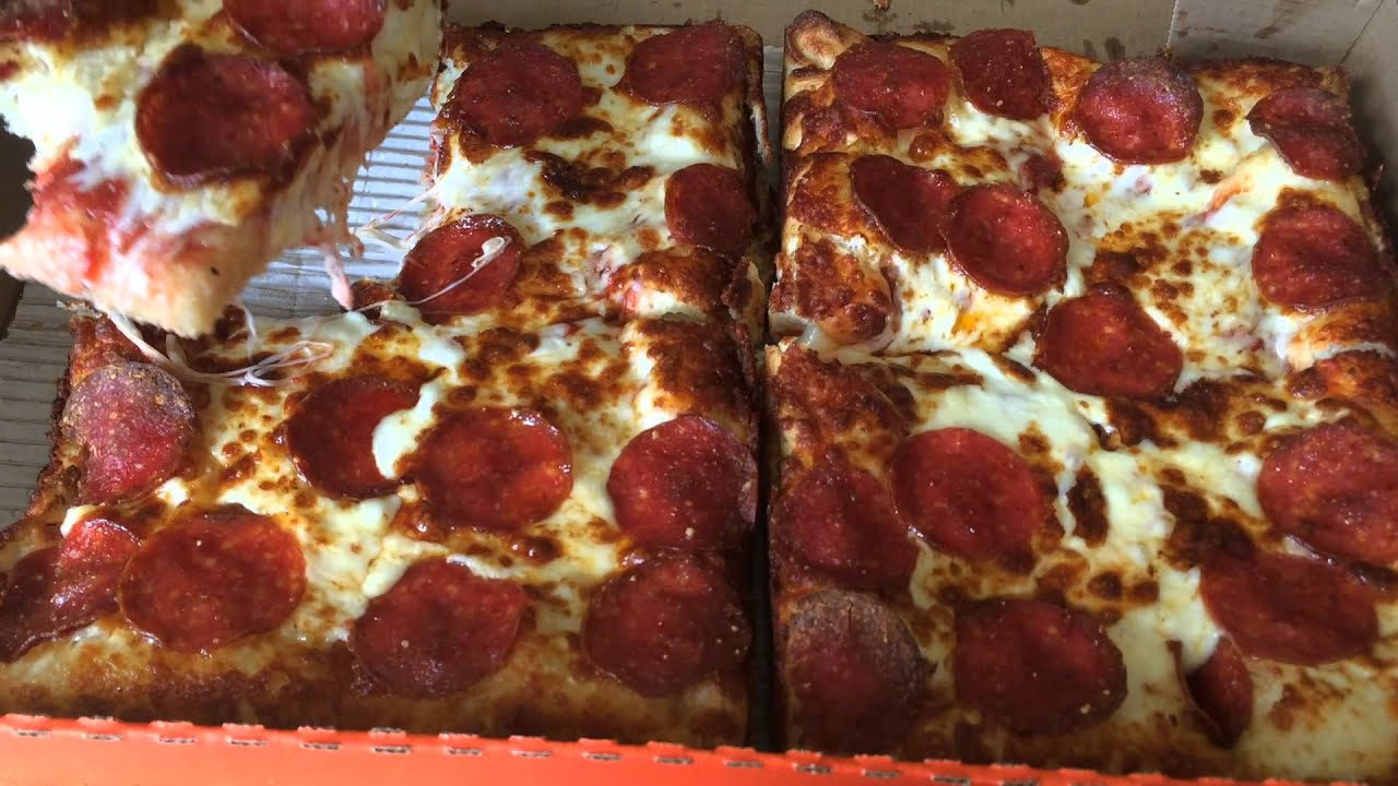 Little Caesars Stuffed Crust DEEPDEEP Dish Pizza Review