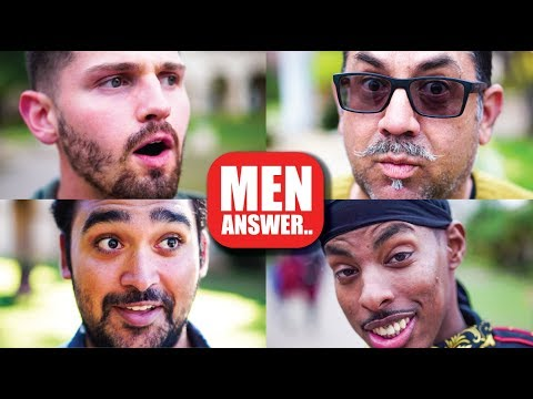 Men Answer 1 Tough Question...