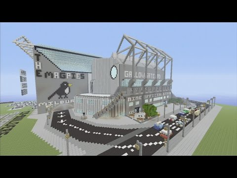 Minecraft xbox Epic Structures: ShevasNUFC's St. James' Park (Revisited)