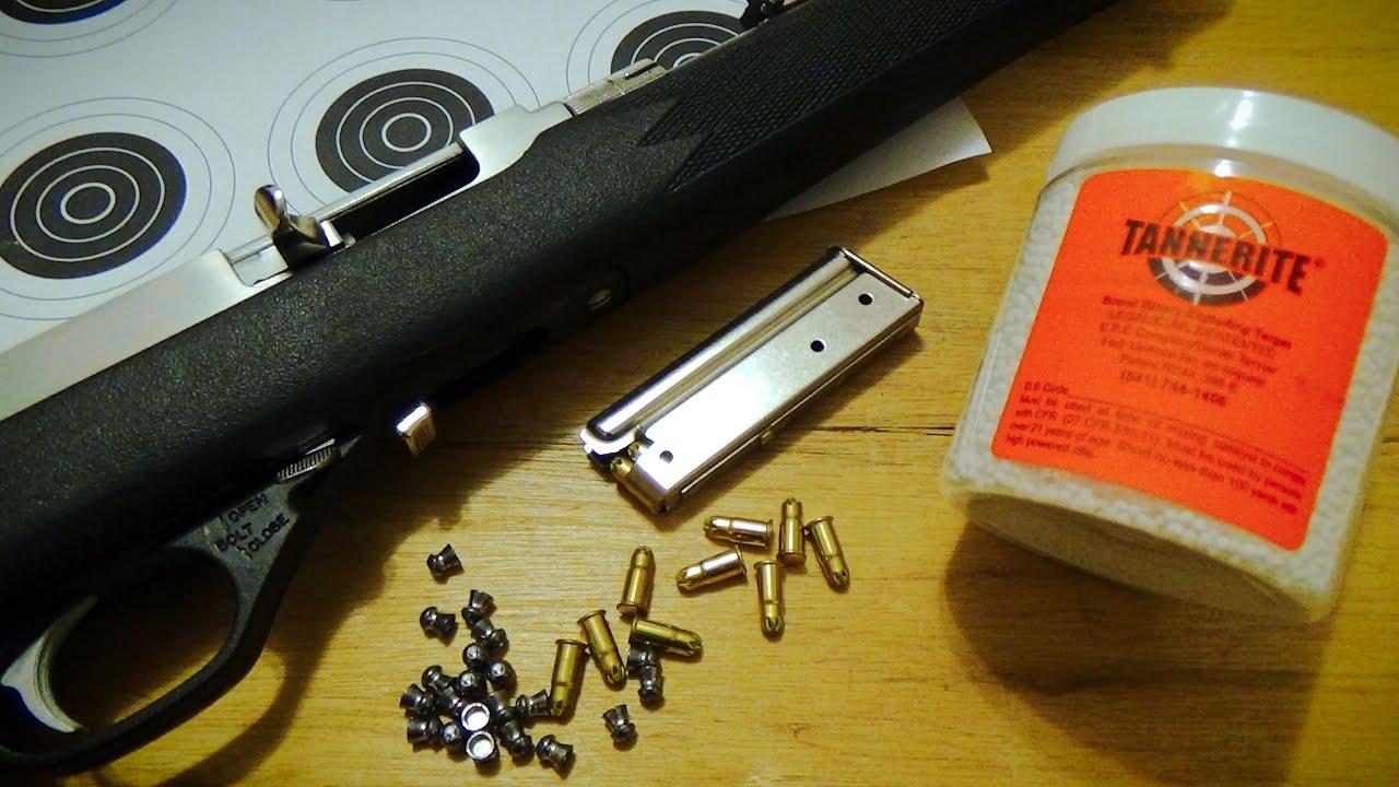 Airgun Pellets Nail Gun Blanks And Tannerite Youtube
