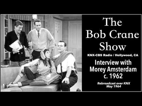 The Bob Crane Show / Interview with Morey Amsterdam (c. 1962)