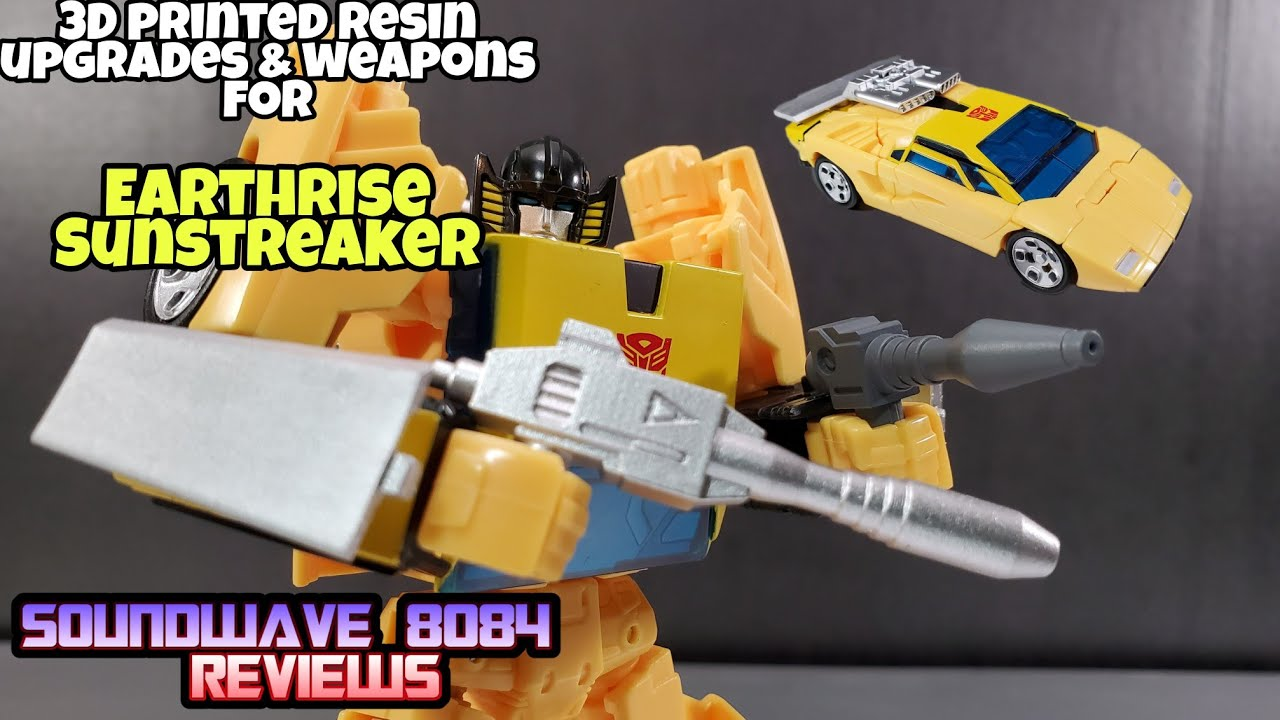 ZXB-04 Upgrades & Weapons for Earthrise Sunstreaker by Soundwave 8084