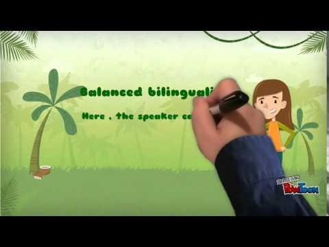 Bilingualism and Bilingual Education