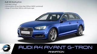 Audi A4 Avant g-tron | Animation