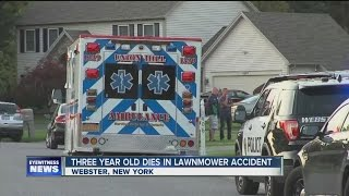 Child killed in lawnmower accident in upstate NY