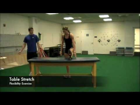 Table Stretch Routine