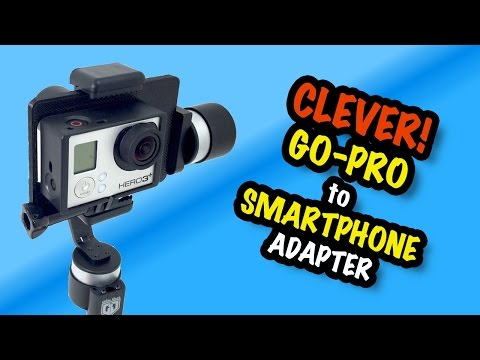 how to conect go pro video to phone