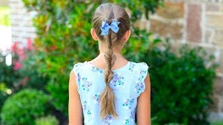 Triple-Flipped Ponytail | Daddy 'Do Hairstyles | Cute Girls Hairstyles