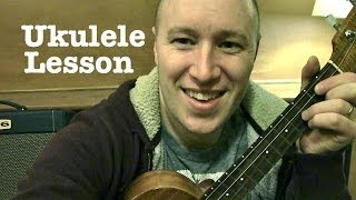 Payphone-Ukulele Lesson-  Maroon 5 (ft Wiz Khalifa)  Todd Downing