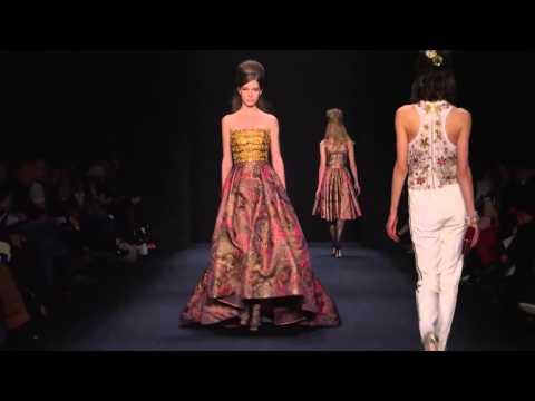 Badgley Mischka | Fall Winter 2015/2016 Full Fashion Show | Exclusive