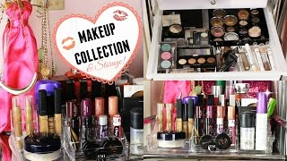 Makeup Collection & Storage! 2015 Thumbnail