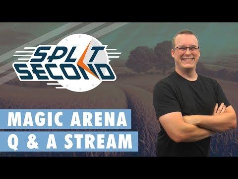Magic Arena Answers & John Avon Kickstarter Update! - Split Second