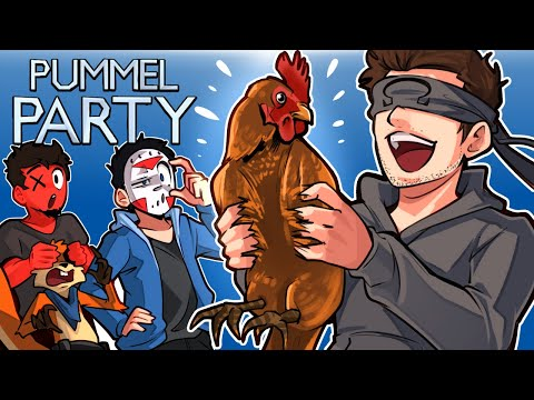 Pummel Party - PUT THAT BACK IN YOUR PANTS OHM! (Fun Mini Games)