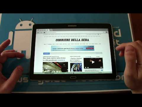 Smartphon-Recensione Samsung Galaxy Tab Pro 10.1 Tablet Android KitKat Quad Core Super Clear LCD