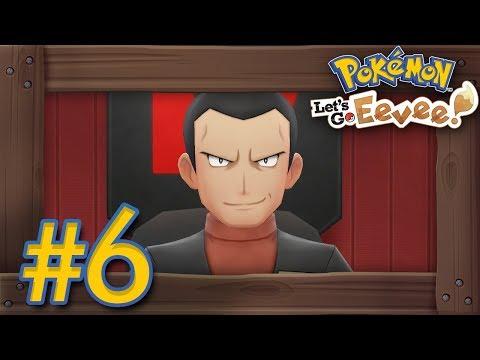 Pokémon Let's Go Pikachu & Eevee: Walkthrough Part 6 - Lavender Town & Team Rocket Hideout