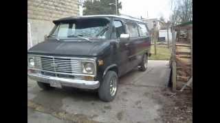 My 1977 Chevy Van