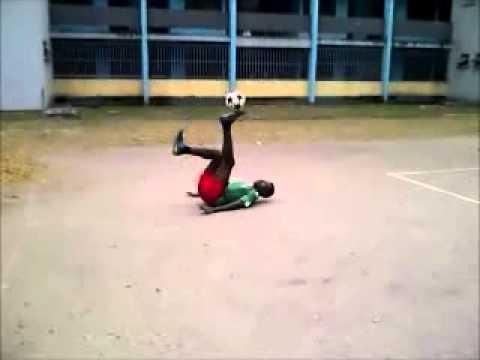 Nigeria's Got Talent Season 2 Online Audition (Freestyle Football, Lagos Nigeria)