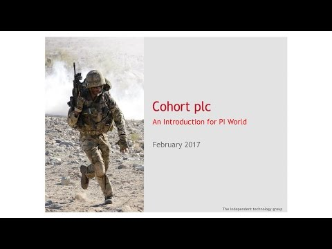 Cohort (CHRT) Investor presentation February 2017