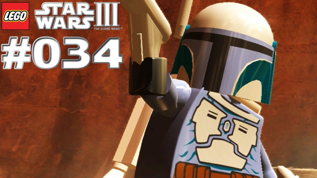 Worksheet. Lets Play LEGO Star Wars 3 The Clone Wars 034 Jango Fett