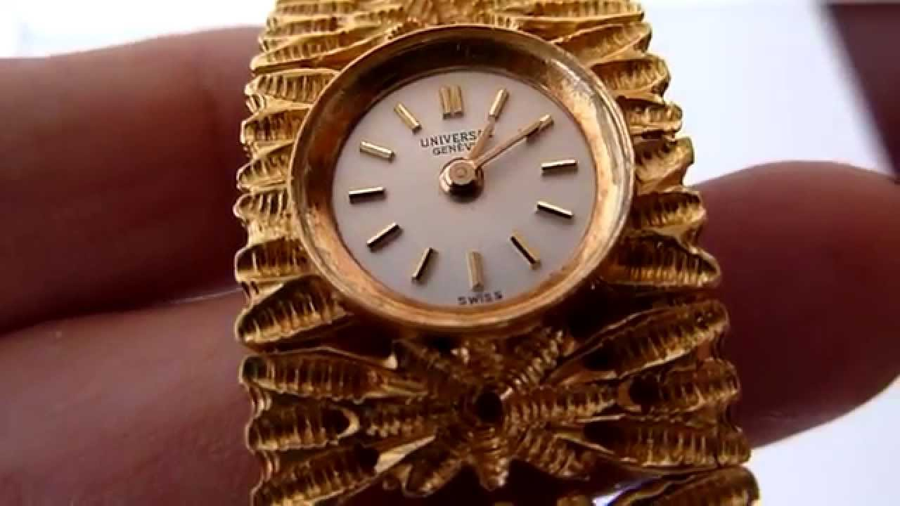 172f7474474f (A LA VENTA) Reloj Geneve Vintage Para Dama Caja 14k Brazalete De Oro18k -  YouTube