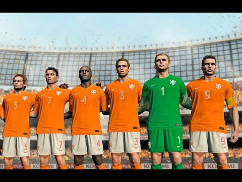 FORMATION TIPS PES 2017 // TOTAL FOOTBALL HOLLAND 1974