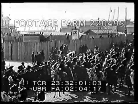 1908 - Portuguese King Charles I; 1913 - Greek King George I 220495-07 | Footage Farm