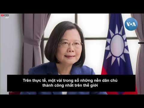 Tổng thống Đài Loan cam kết tiếp tục ủng hộ nhân dân Hong Kong (VOA)