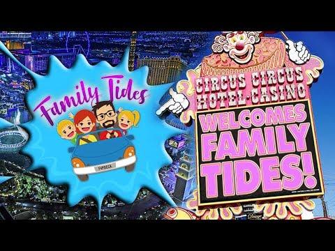 Circus Circus Hotel - Las Vegas With Kids!!!