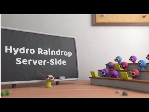 Hydro Raindrop: Server-Side