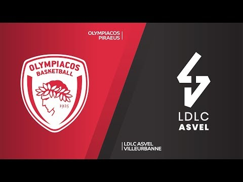 Olympiacos Piraeus - LDLC ASVEL Villeurbanne Highlights | EuroLeague, RS Round 25