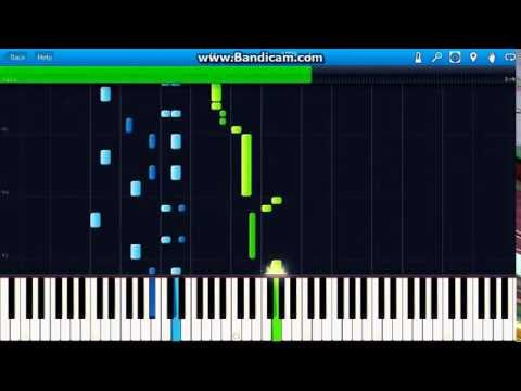 Johannes Brahms - Hungarian Dance No. 5 piano (Synthesia)