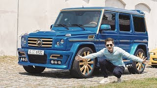 Klasa G prosto Z DUBAJU: Mercedes-AMG G55 A.R.T!