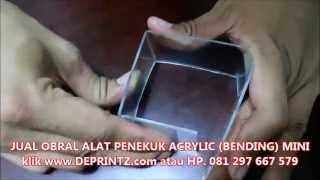 Cara Penggunaan Alat Bending Tekuk Acrylic Mini yang PRAKTIS