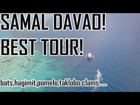 Samal Best TOUR! Hagimit, Taklobo Clams... Law UY!