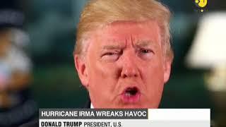 Hurricane IRMA: Satellite imagery shows three hurricanes barreling west
