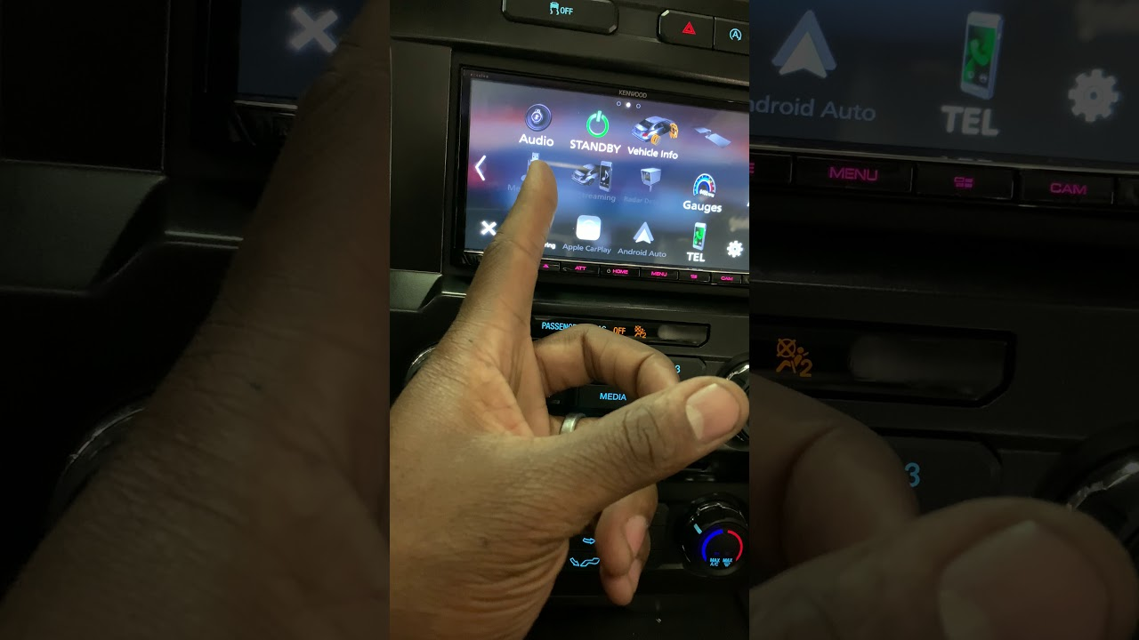 Kenwood DMX906S and Idatalink Maestro MFT1 kit into a 2015 Ford F-150