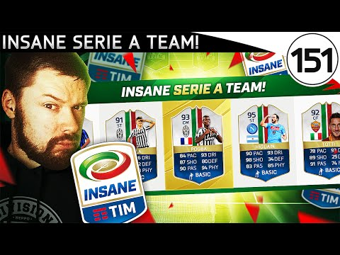 AMAZING SERIE A DRAFT! - FUT DRAFT TO GLORY #151 - FIFA 16 Ultimate Team