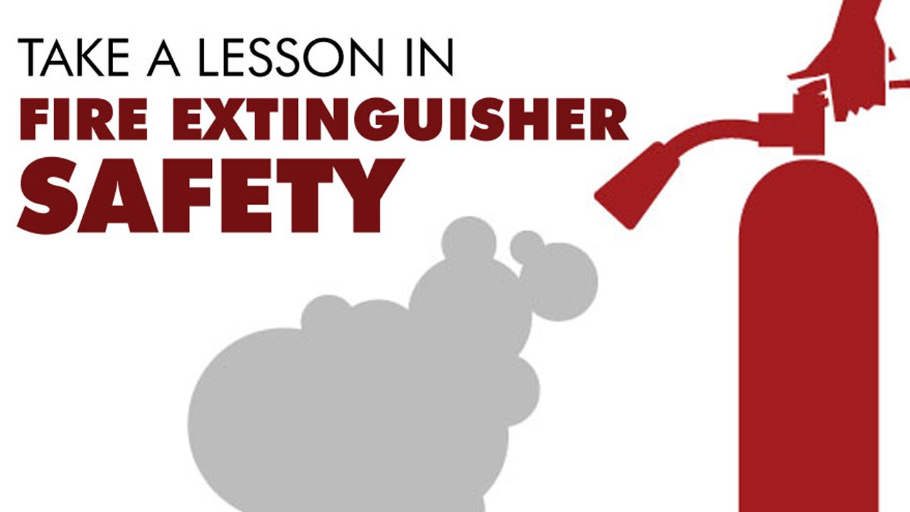 Take a Lesson in Fire Extinguisher Training - YouTube