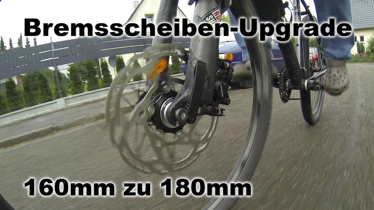 Shimano Bremsscheiben Wechsel Von 160 Auf 180mm Slx
