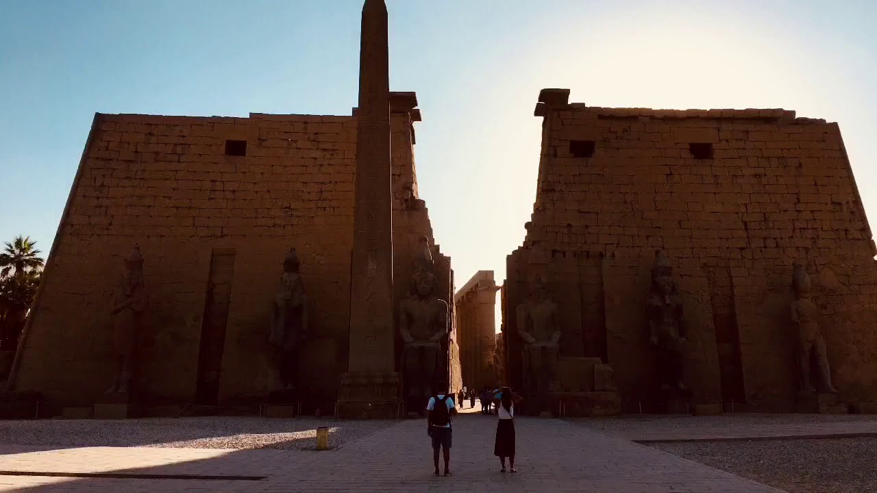 Ancient technology at Luxor Temple