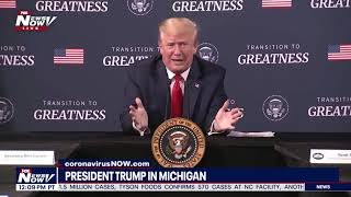 FULL MEETING: President Trump with African-American leaders in Michigan