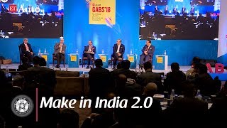 Panel Discussion on What 'Make in India 2 0' means for auto industry
