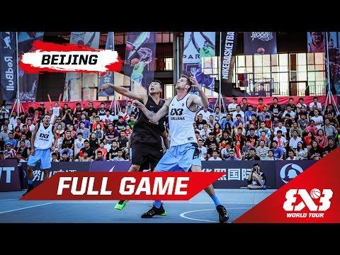Ljubljana (SLO) v Beijing (CHN) - QF - Full Game - Beijing - 2015 FIBA 3x3 World Tour